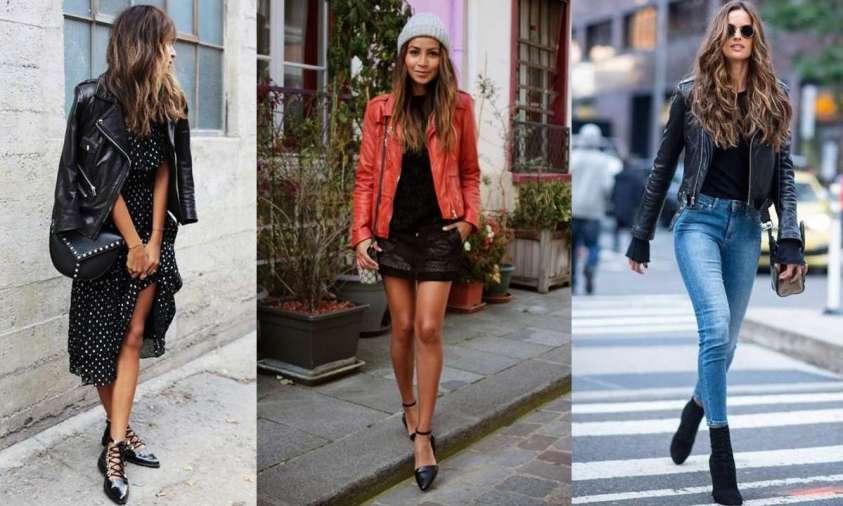 giacca di pelle come indossarla